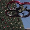 Did You See This Mistletoe Drone Fly Over Union Square?