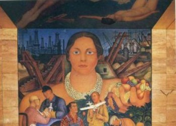 "Tourism for Locals: Visiting Diego Rivera's First U.S. Mural: ""The Allegory of California"""