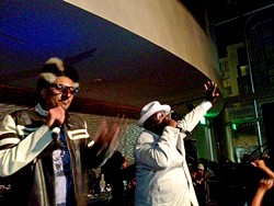 TAMARA PALMER - Digital Underground with George Clinton.
