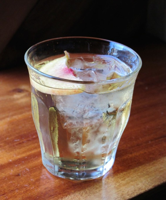 Dipsea Diver cocktail from Duende - LOU BUSTAMANTE