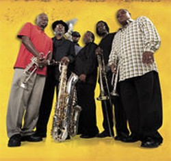 Dirty Dozen Brass Band: channeling Marvin Gaye and Ray Nagin.