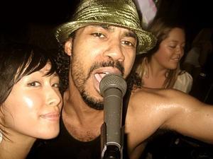 DJ Pickpocket (left) - KATHERINE LEIGH MATUTINA