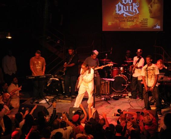 DJ Quik at DNA Lounge, 2008 - EKAPHOTOGRAPHY