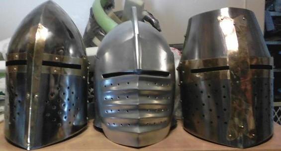 Do-Luck's former helmets