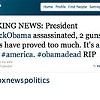 Fox News Twitter Account Hacked, Claims President Obama Assassinated