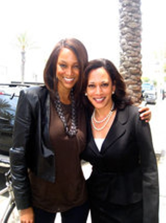 Don't worry Kamala. Tyra still loves you.