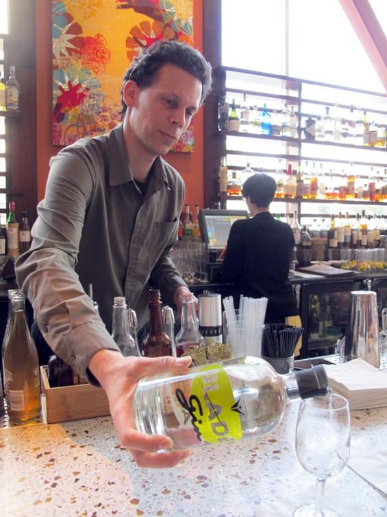 Dosa bar manager Lenny Gumm. - LOU BUSTAMANTE