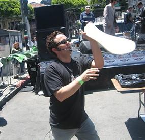 Dough boy: Twirl master Tony Gemignani. - MARY LADD