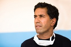 Dr Sanjay Gupta has found he's OK with weed - TWITTER