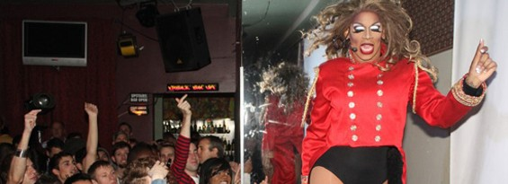 Drag queens at Wet & Wild have perfected Britney. - MARQUES DANIELS
