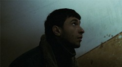 Dragos Bacur plays a conscientious young detective.