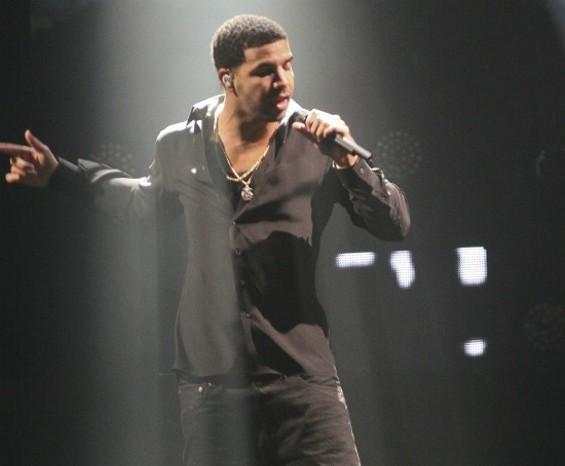 Drake in San Jose. - CHRISTOPHER VICTORIO