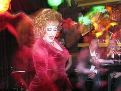 JOIE DE VIVRE - Dream Queen Sheena Rose shimmies.