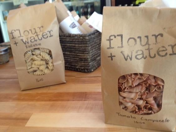 Dried Flour + Water pasta at Salumeria. - TAMARA PALMER