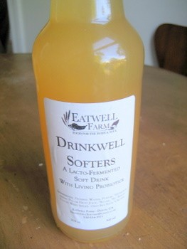 Drinkwell's naturally fermented wassail.