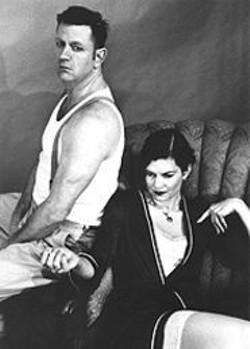 GEORGIA  MORROW - Eastenders Repertory Company pays homage to the late, great Tennessee Williams in Tenn in 2002!