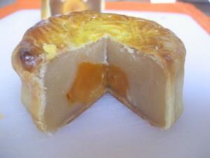 Eastern Bakery's mooncake. - JONATHAN KAUFFMAN