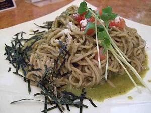 Easy, breezy, beautiful: Pesto soba. - T. PALMER