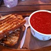 Get Your Ass to Oakland for Sacred Wheel's Grilled Cheese & PBR Tomato Soup