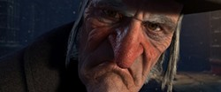 Ebenezer Scrooge (Jim Carrey) is a bitter old soul who learns a valuable lesson.