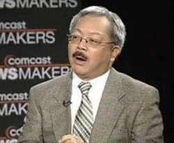 Ed Lee Gives The Silent Treatment