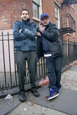 Edan Portnoy and Ricky Powell