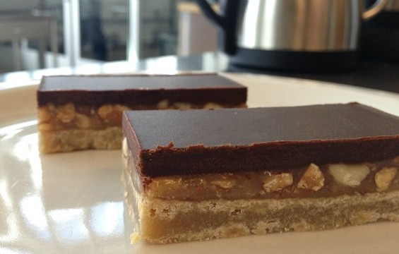 Edith Heath bars, found exclusively at Blue Bottle's Mission location. - ANNA ROTH