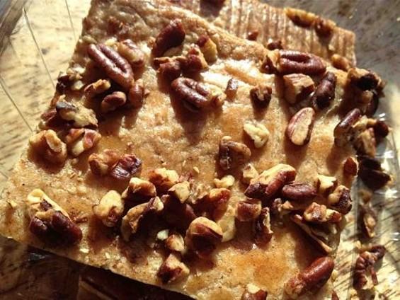 Edna's Pecan Crisps. - TAMARA PALMER