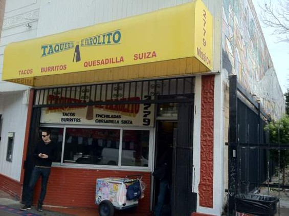 El Farolito on Mission and 24th St. - JONATHAN KAUFFMAN