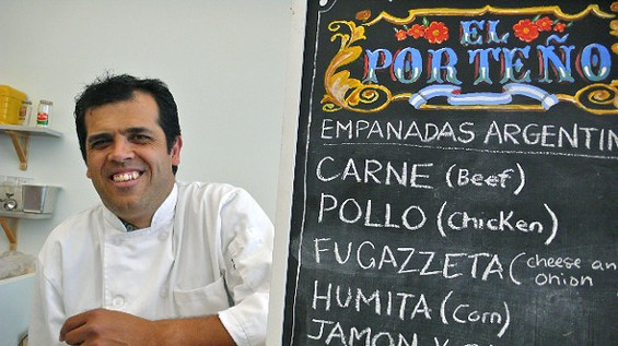 El Porteño's Joseph Ahearne. - KELLY KOZAK