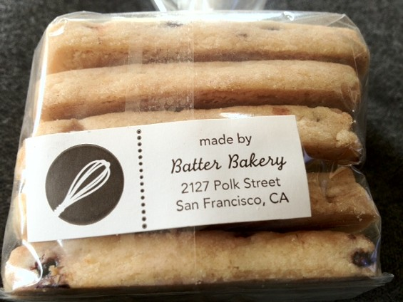 Elderberry shortbread by Batter Bakery. - TAMARA PALMER