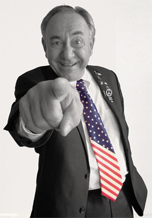 Elect to Laugh! brings the biting political comedy of Will Durst to people who read or know someone who does - IMAGE CREDIT: WILLDURST.COM