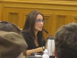 Eliana Lopez testifying - SUZANNE STATHATOS