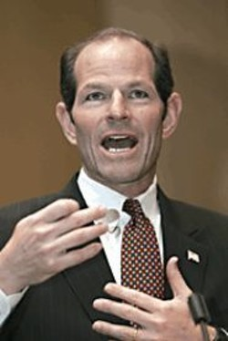 COURTESY OF AP WIDEWORLD PHOTOS - Eliot Spitzer.