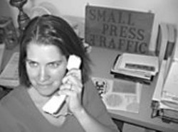 PAUL  JACKSON - Elizabeth Treadwell Jackson, SPT's - executive director, curates readings, - maintains the archive, and edits the - newsletter, Traffic.