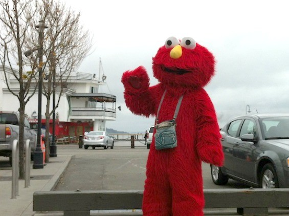 Elmo, circa 2012 - IAN S. PORT