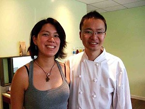 Eloise and Dennis Leung: A sweet couple. - T. PALMER