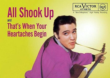 """Elvis Presley and Otis Blackwell's """"All Shook Up"""": The Story Behind the Song"""