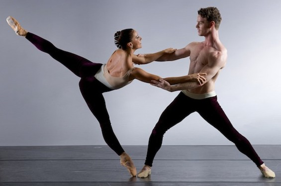 Erica Chipp and Ben Needham-Wood in Carmina Burana, by Keith Sutter