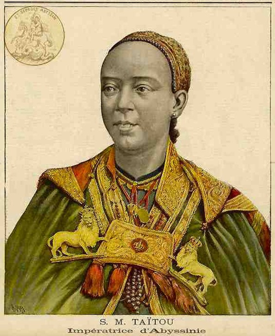 Ethiopian empress Tayitu inspires a pop-up restaurant at the Guest Chef this week. - WIKIMEDIA COMMONS