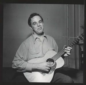 Ethnomusicologist Alan Lomax in 1938. - ASSOCIATION FOR CULTURAL EQUITY