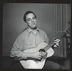 ASSOCIATION FOR CULTURAL EQUITY - Ethnomusicologist Alan Lomax in 1938.