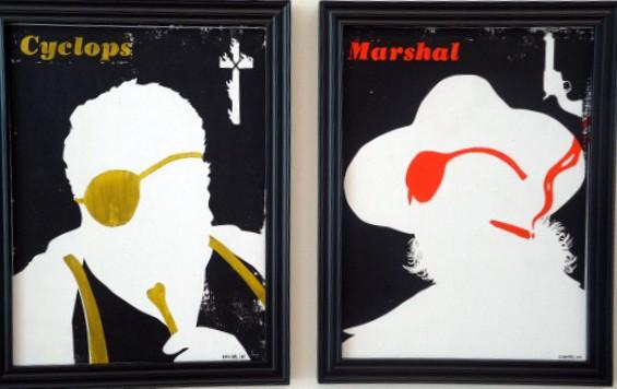Evanimal's portraits inspired by Coen films. - KATE CONGER