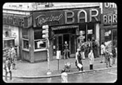 Everybody knows your name at New  York City's - Terminal Bar, featured in Stefan Nadelman's - documentary of the same name.
