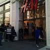 Everyone Loves a Good Line: Crowds Wait for H&M to Open for Alexander Wang Collection