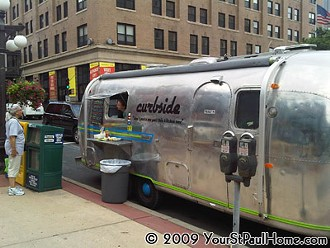 Ex-Chairman Bao chef Eric Rud is launching Eat Curbside, an Airstream trailer food business similar to one he operated in Minneapolis (pictured here). - YOURSTPAULHOME.COM/2009