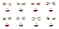 """Expression from """"Agent Ruby,"""" an artificial intelligence project - LYNN HERSHMAN LEESON"""