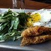 "Extreme Brunching: Deep-Fried ""Croque Yes Ma'am"" at Southpaw"