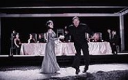 KEN  FRIEDMAN - Fair Is Foul, and Foul Is Fair: Lady Macbeth (Mia - Barron) and Macbeth (Boris McGiver).