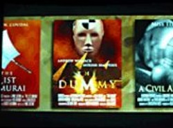 DANNY  DAWSON - Fake movie posters from Cheshire Dave's - Etched in Stone.